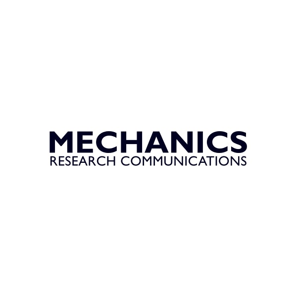 Mechanics Research Communications