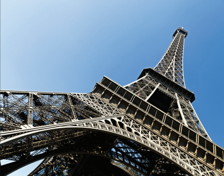 The Eiffel Tower was never intended to be a permanent feature of the Parisian landscape.